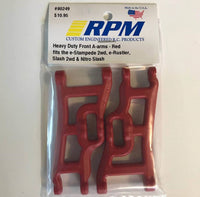 80249 RPM Heavy Duty Front A-Arms Red
