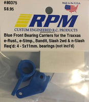 80375 RPM Front Bearing Carriers Blue