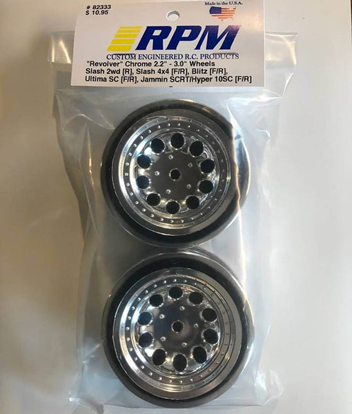 82333 RPM Chrome Revolver Wheels