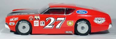 B303 McAllister Racing 1/10 1966 Fairlane 500 Street Stock Body w/ Decal