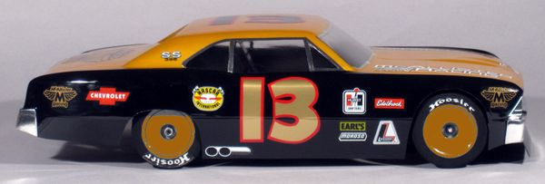 B306 McAllister Racing 1/10 1966 Chevelle Street Stock Body w/ Decal