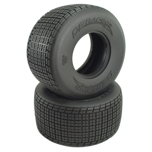 DER-OSR2-D4 Outlaw Sprint HB Rear Tire / D40 Compound / With Inserts