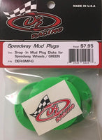 DER-SMP-G Mud Plugs Green