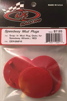 DER-SMP-R Mud Plugs Red