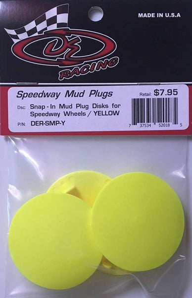 DER-SMP-Y Mud Plugs Yellow