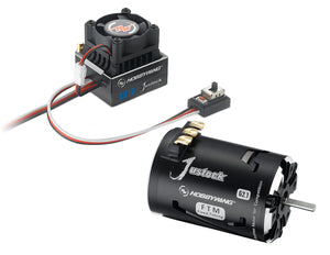 HWI38020240 XR10 Justock ESC, w/ Justock 3650 SD G2.1 Sensored Brushless Motor (13.5 Turn) - Combo