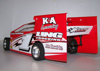 K1006SP 1/10 Scale Eastern Dirt Modified EDM Body Kit w-Sail Panels.