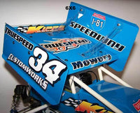 Kipps 6x6 sprint car wing