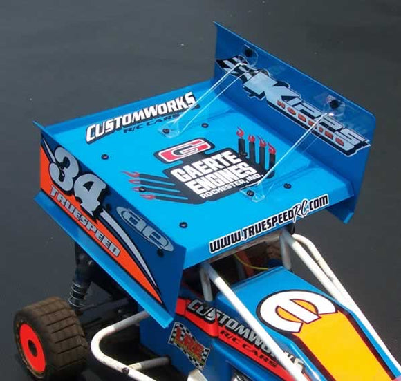 K1023 Kipps Roof Sprint Car Wing Kipps Hobbies