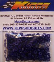 K440NPP Purple Kipps 440 Nylon Nuts and Bolts