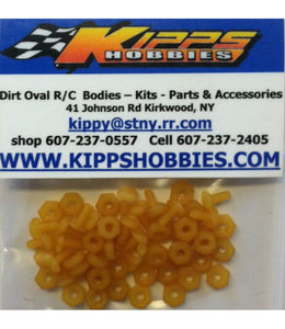 K440NYL Yellow Kipps 440 Nylon Nuts and Bolts