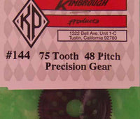 KP144  Kimbrough 75 Tooth 48 Pitch Spur Gear