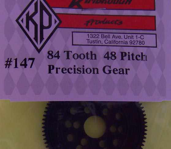 KP147 Kimbrough 84 Tooth 48 Pitch Spur Gear