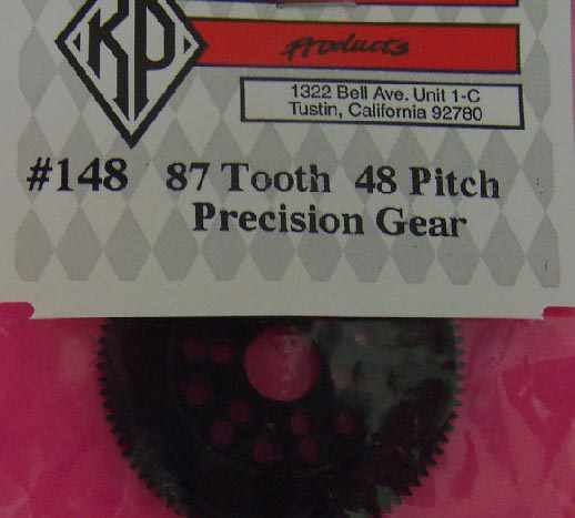 KIM148  Kimbrough 87 Tooth 48 Pitch Spur Gear