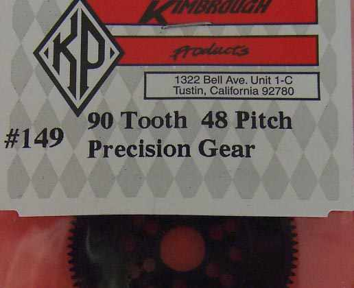 KP149  Kimbrough 90 Tooth 48 Pitch Spur Gear