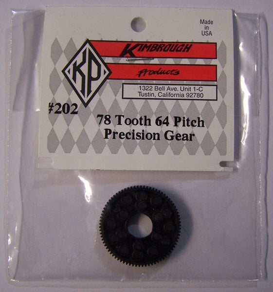 KP202  Kimbrough 78 Tooth 64 Pitch Spur Gear