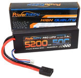 PHB2S520050CTRX Power Hobby 5200 LIPO Battery Traxxas Plug