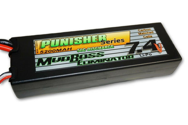 PUN3011D Punisher Series 5200 Lipo Battery