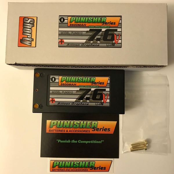 PUN3012 Punisher Series 5600 Lipo Battery