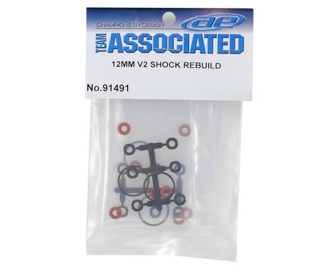 ASC91491 Team Associated 12mm V2 Shock Rebuild Kit