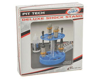DTXC2384 DuraTrax Pit Tech Deluxe Shock Stand (Black)
