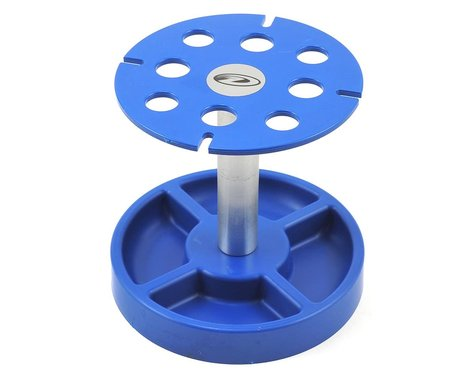 DTXC2385 DuraTrax Pit Tech Deluxe Shock Stand (Blue)
