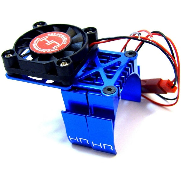 HRAMH550TE06 Hot Racing Blue Multi Mount Fan, Heat Sink