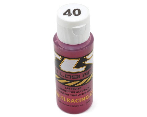 TLR74010 Team Losi Racing Silicone Shock Oil (2oz) 40wt