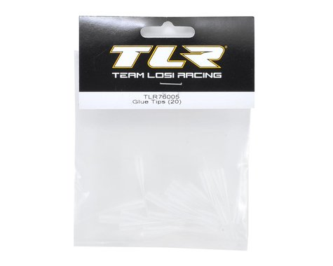 TLR76005 Team Losi Racing 76005 Glue Tips (20)