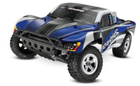 58024 BLUE Traxxas Slash 1/10 RTR SC Truck