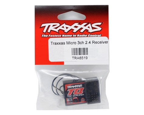 6519 Traxxas Micro 3-Channel Receiver