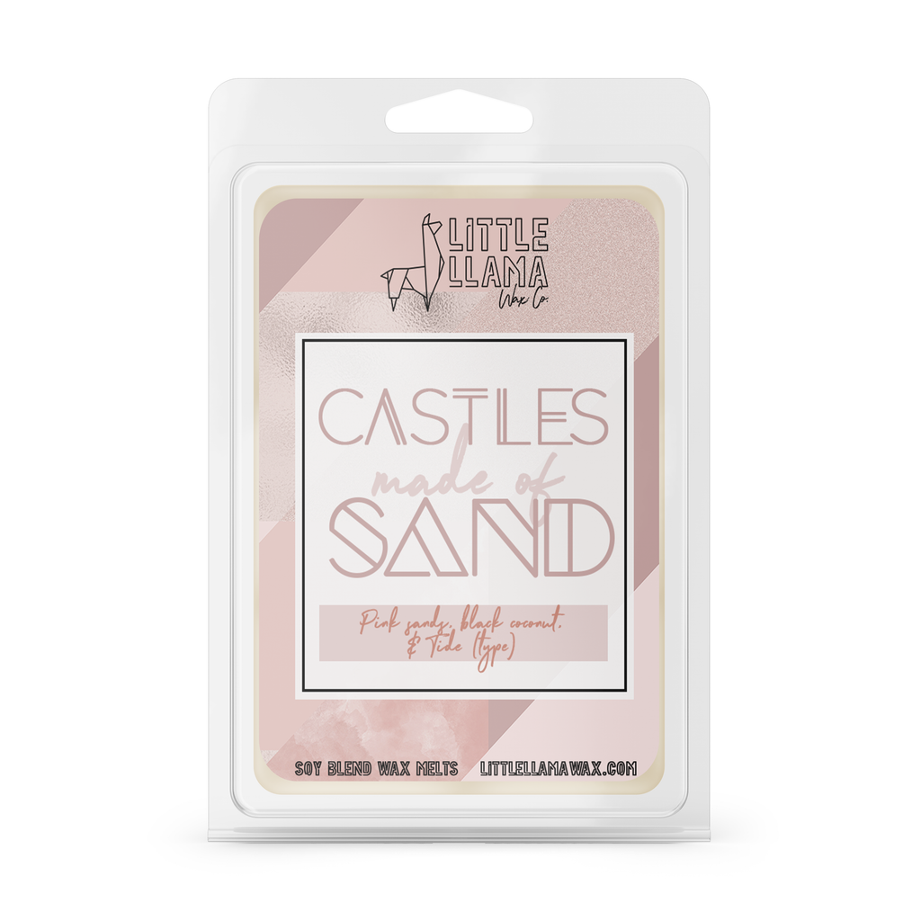 Castles Made of Sand | Black Coconut, Pink Sands & Tide