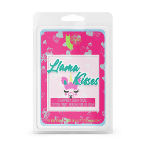 Llama Kisses | Strawberry Guava, Mexican Fried Ice Cream Wax Melts