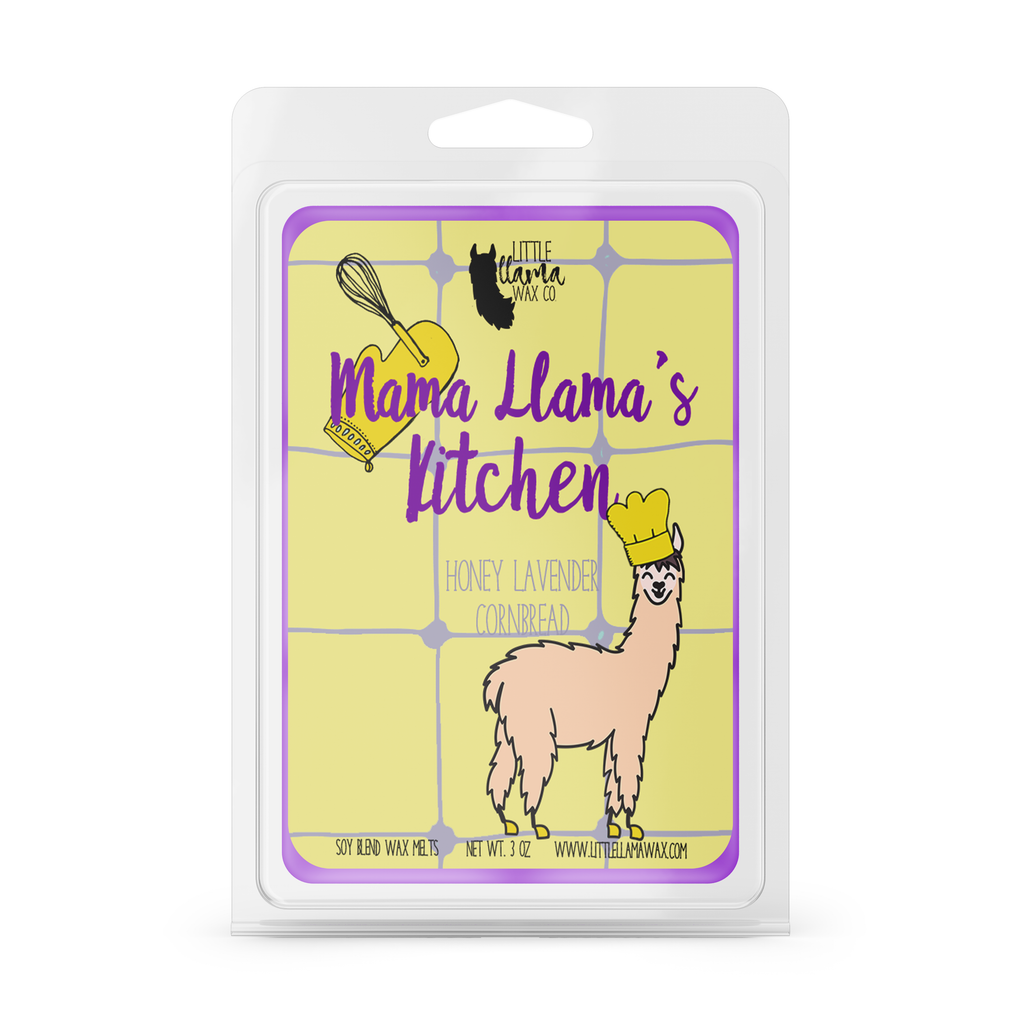 Mama Llama's Kitchen | Honey & Lavender Cornbread Wax Melt