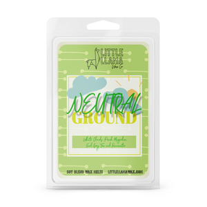 Neutral Ground | White Clouds, Peach Magnolias, Earl Grey Tea & Rainwater Wax Melts
