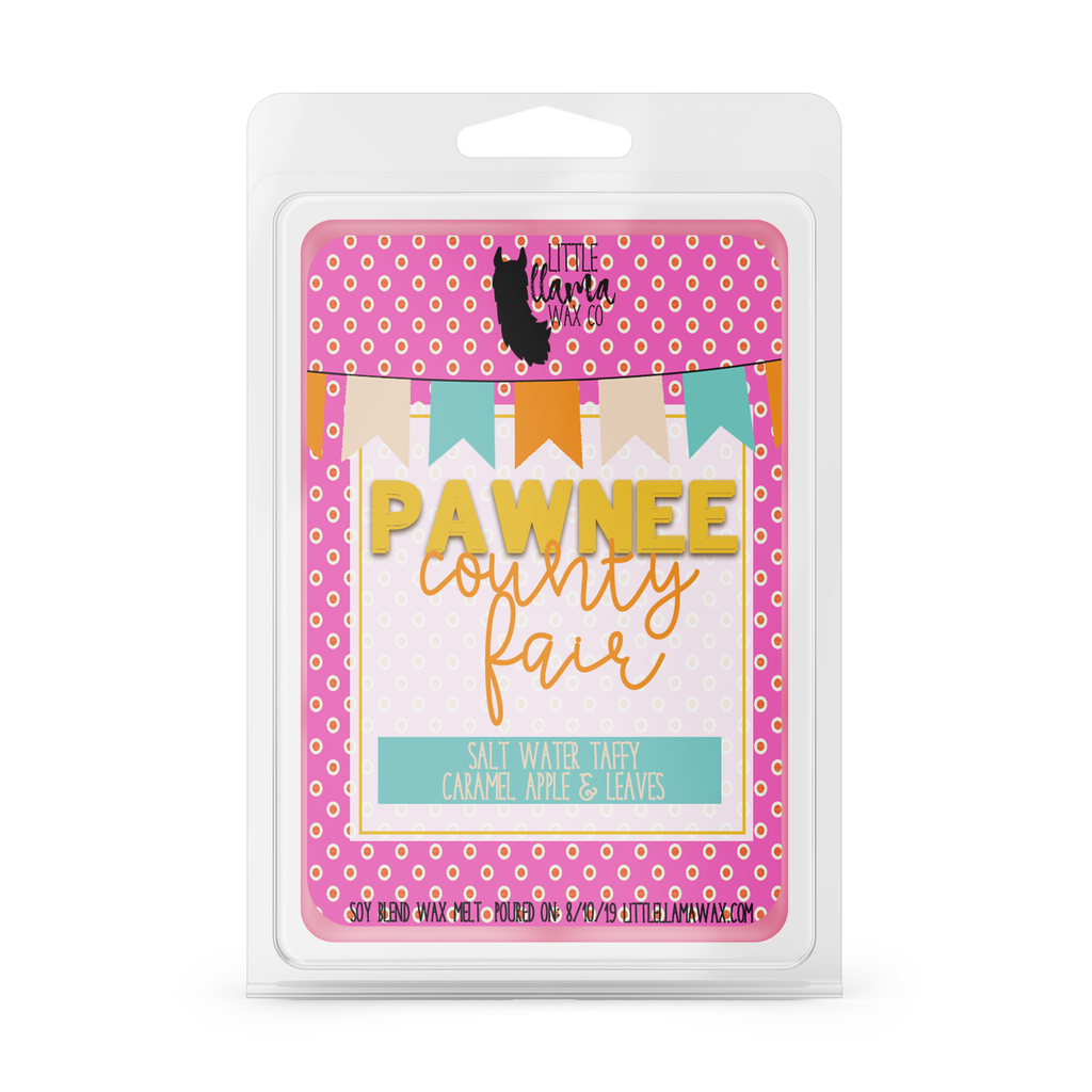 Pawnee County Fair | Salt Water Taffy, Caramel Apple & Leaves