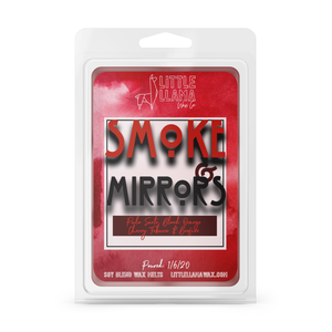 Smoke & Mirrors | Blood Orange, Palo Santo, Black Cherry Tobacco Wax Melts