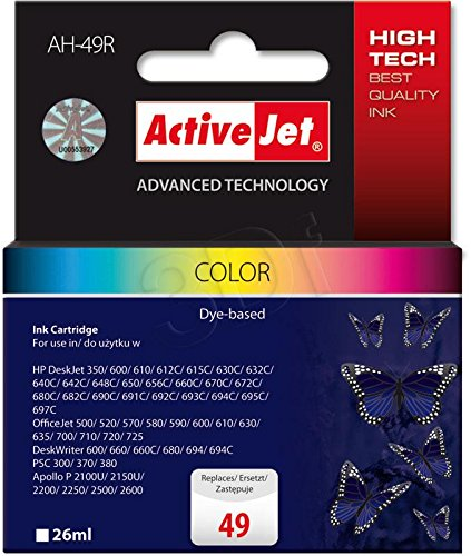 Active Jet Inkjet Cartridge
