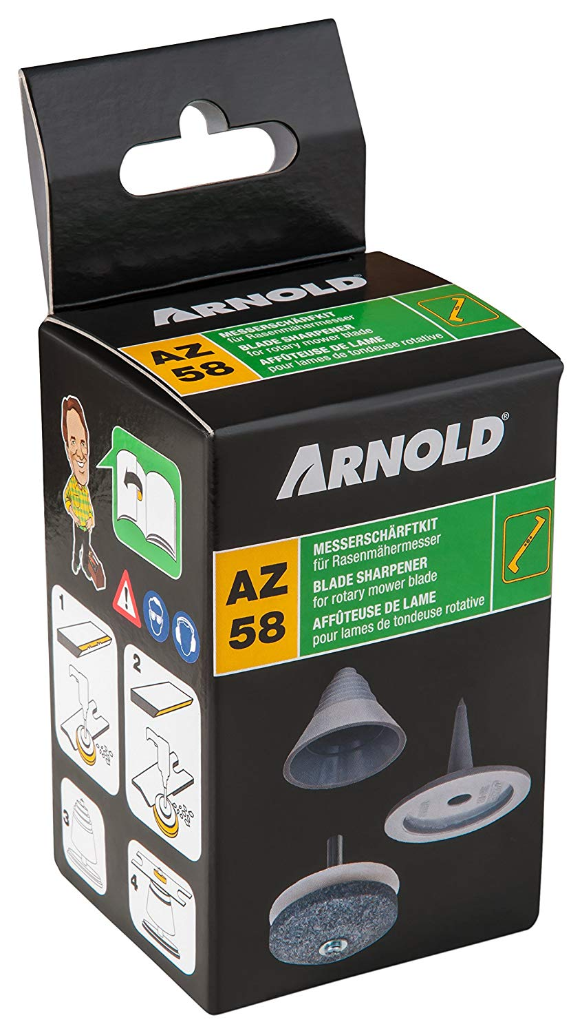 Sharpening and Balancing Kit ARNOLD 6011-X1-0195