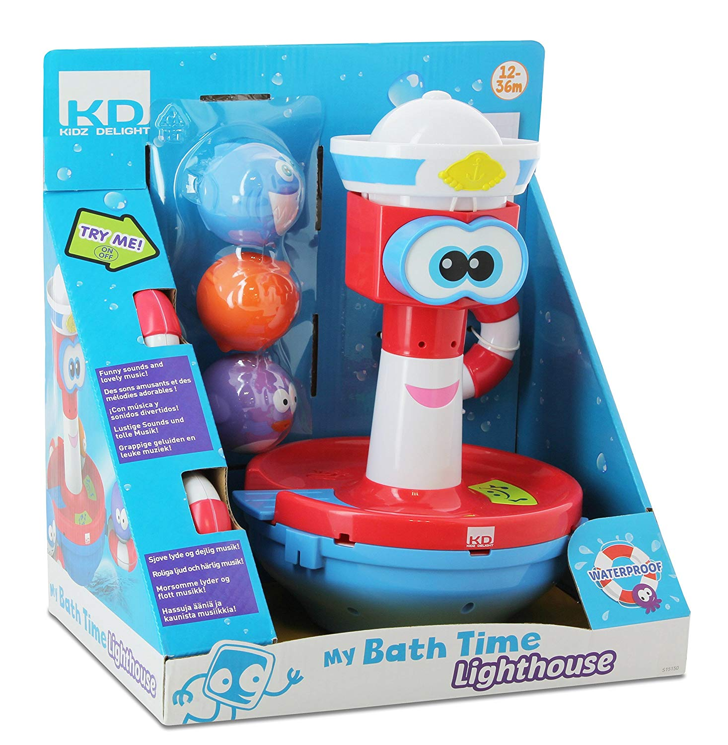 Bath Time Fun - Lighthouse