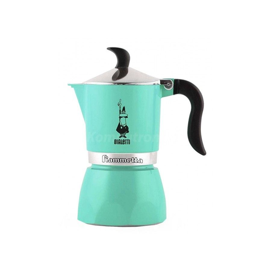 Bialetti Fiammetta Arctic Light Mocha Coffee Maker