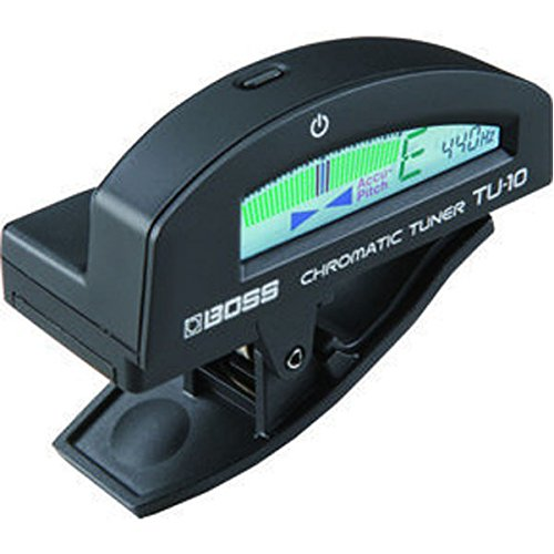 Boss TU10BK Clip-On Chromatic Tuner (Guitar and Bass)