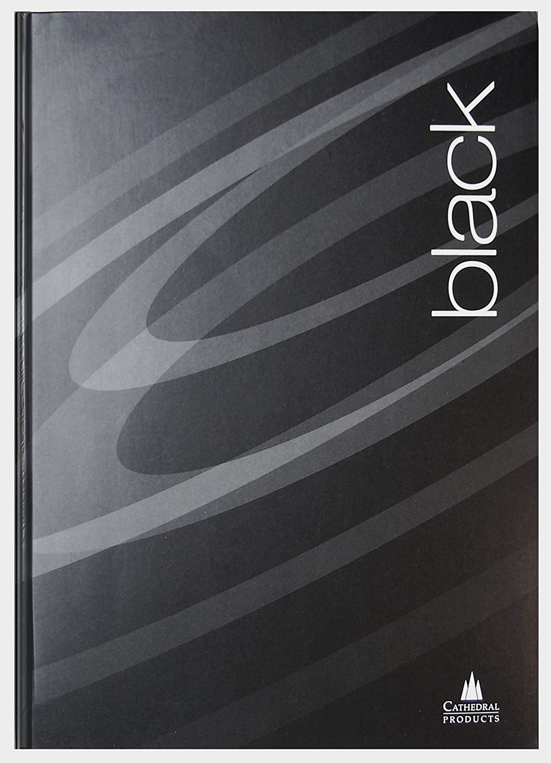 Cathedral A5 Hard Cover Notebooks Pack of 3 - Black