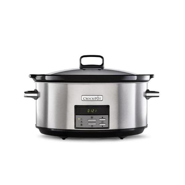 Crock-pot 7.5L Digital Slow Cooker Stainless Steel CSC063X