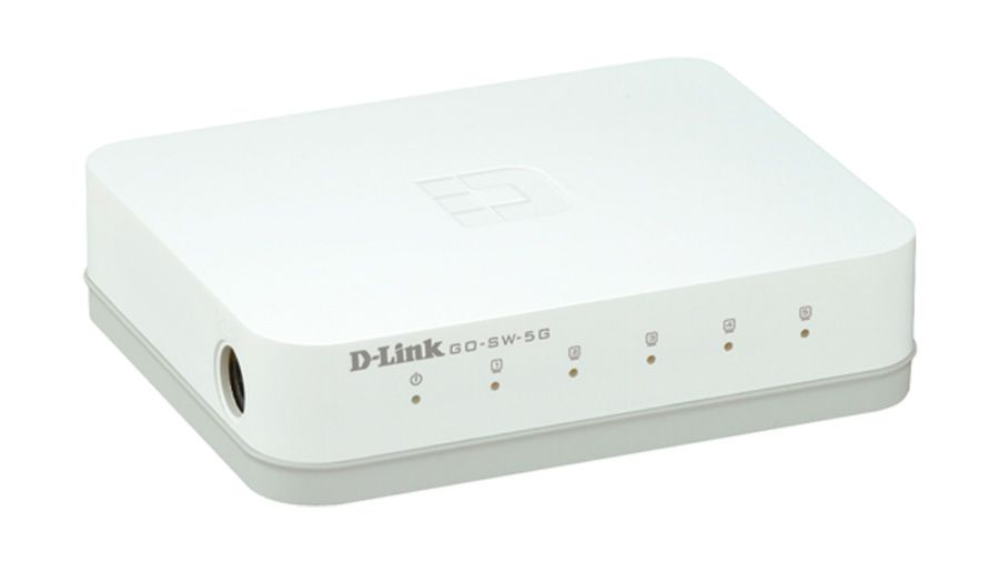 Switch Dlinkgo 5 portas Fast Ethernet Easy Desktop GO-SW-5E