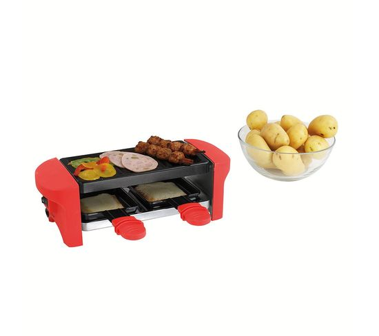 DOMOCLIP Raclette Red Grill
