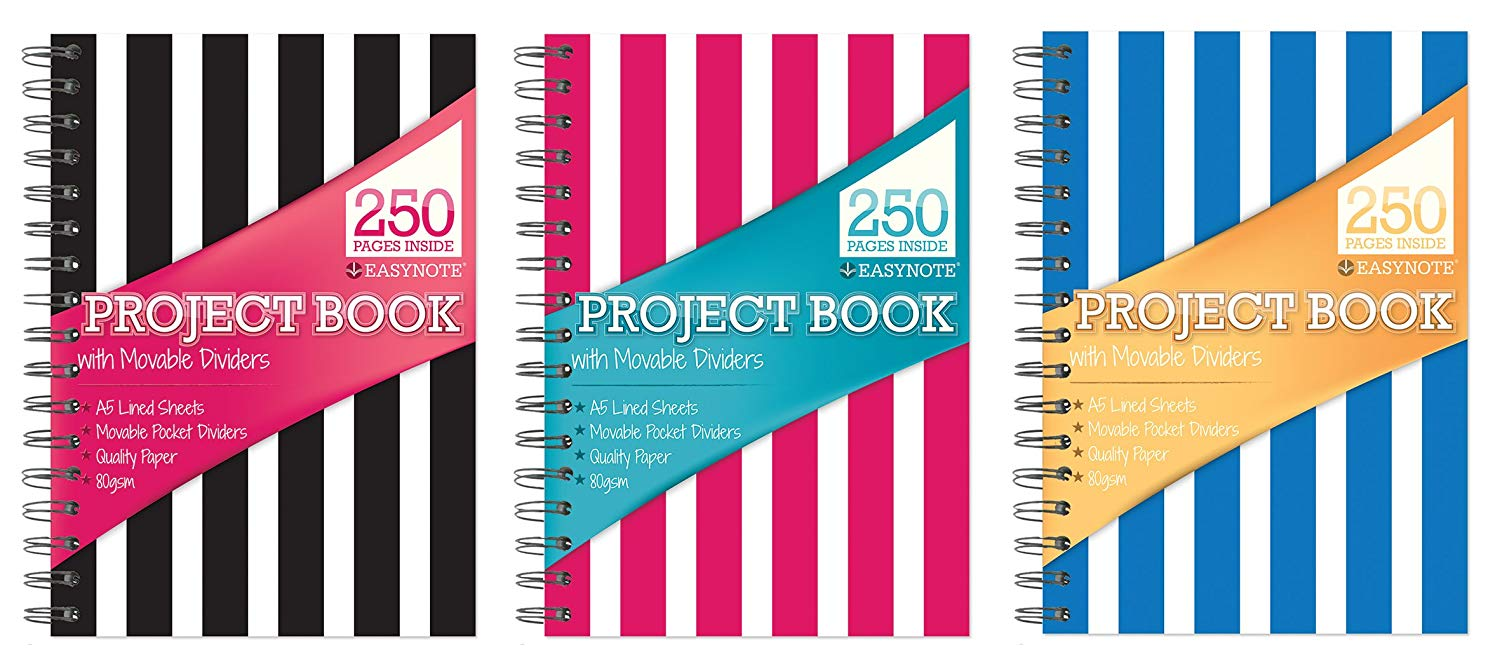 Easynote A5 Project Notebook