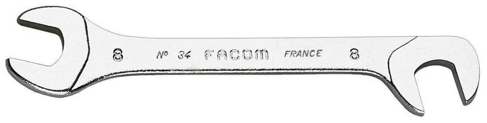 Facom Micromechanical flat head (fork) tilted at 15 ° and 75 °
