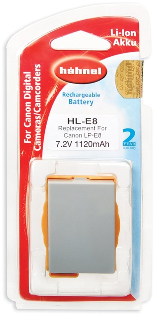 Hähnel HL-E8 Replacement Li-Ion Battery for Canon