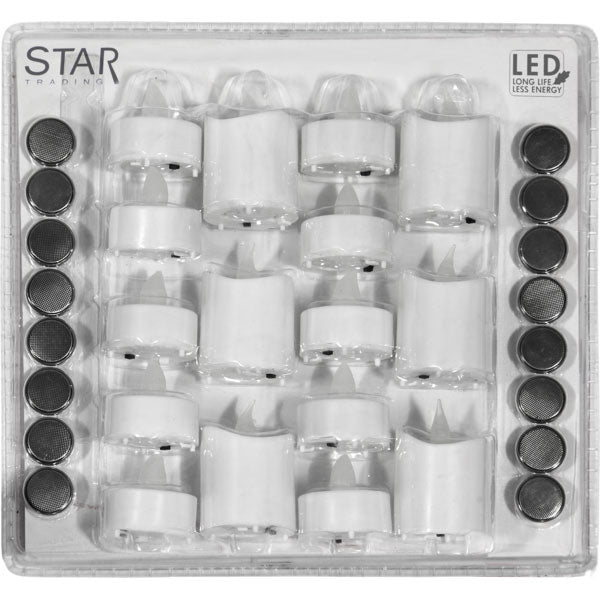 LED Candle 16 Pack Packy